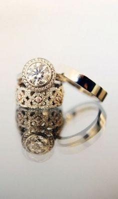 Vintage looking rings