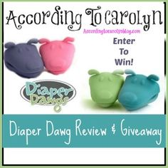 Diaper Dawgs- A Cloth Diapering Dad's BFF! - According To Carolyn Giveaway