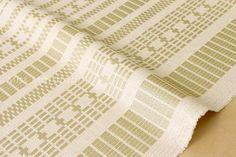 Japanese Fabric Kokka Tsumiki Dash Stripes  basket by MissMatatabi