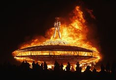 """The 2013 Burning Man festival came to a close on Sept. 2 with the ritual burning of """"The Man."""" The arts and music festival takes place every year, deep in the Black Rock Desert of Nevada. This year, attendance topped more than 61,000."""