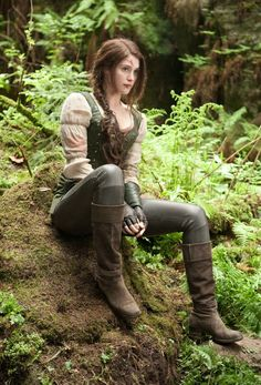 "Gemma Arterton in ""Hansel and Gretel"""