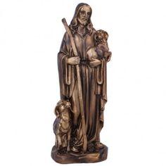 Cette statue de Jésus Christ avec l'agneau de l'innocence remplira votre maison de bénédictions Jesus Christ Statue, Dragons, Saint Esprit, Statues, Jesus Christ, Lamb, Home, Train Your Dragon, Effigy