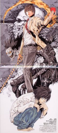 Deathnote One of those animes you HAVE to watch!