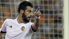Middlesbrough sign Valencia striker Alvaro Negredo on a season-long loan