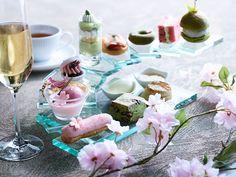 コンラッド東京の「桜アフタヌーンティー」春の宴をテーマに、桜のエクレアや最中など 写真3