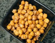 This yummy snack recipe for Roasted Chickpeas checks all the right boxes for me - its low in fat, low GI, healthier than potato chips and easy to make.