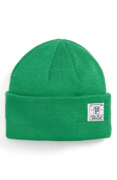 6381aeb0e72 POLO RALPH LAUREN EVERYDAY WATCH BEANIE - GREEN.  poloralphlauren