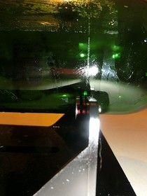 Von der Flasche zum Trinkglas - Atelier Träume aus Glas Northern Lights, Bottles, Nature, Travel, Atelier, Decoupage Glass, Drinking Glass, Drinking, Naturaleza