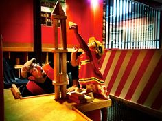 """The """"Funstruction Zone"""" at the Austin Children's Museum"""