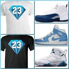 057220b6867c EXCLUSIVE SHIRT TO MATCH NIKE JORDAN LEGEND BLUES OR JORDAN 7 FRENCH BLUE!  Jordan Legend