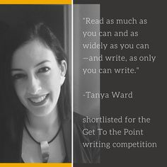 Story Intensive alumna Tanya Ward offers some sage advice for writers. We'll be featuring Little Bird/SI success stories in the coming weeks to help motivate you to submit to the Little Bird Writing Contest! Details here-->www.littlebirdcontest.com #writing #amwriting #inspiration #pubtip #writer #creative #creativity #shortstory #littlebird #writingcontest #contest