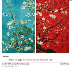 Vincent Van Gogh - Almond Blossoms