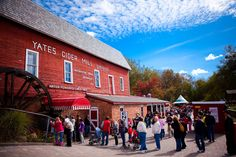 Yates Cider Mill, Rochester Hills, Michigan (featured on Food Network for its apple cider)