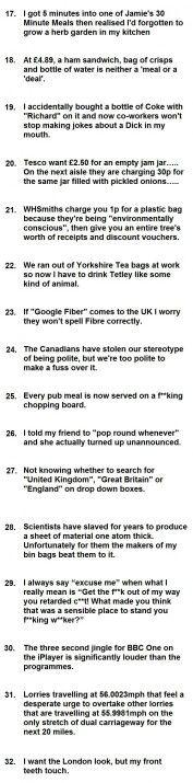 British Problems part 2