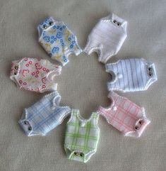 all sorts of miniature doll clothes and miniature items for sale - Spain