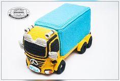 Вязаная игрушка машина. Crochettoys. Игрушки ручной работы