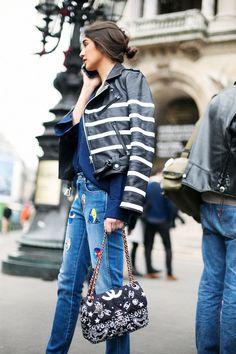 Street style. Gorgeous Chanel bag. ETOILE LUXURY VINTAGE
