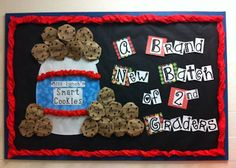 Bulletin board.... A brand new batch of 1st graders