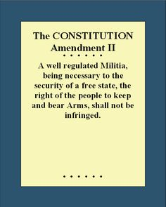 Bill of Rights_2nd Amendment. And they never meant the National Gaurd when they wrote that. They meant State defense forces ....*militia*