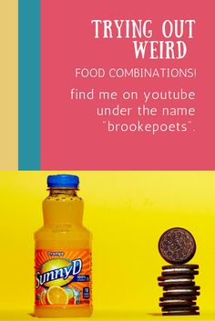 hey you all check out my latest video in which i try out some weird food combinations. Hope you all enjoy! #food #sweets #naturalhair #oreo #cookies #juice #2017 #beauty #fashion #lifestyle