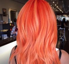 Peach hair might be our newest beauty obsession!