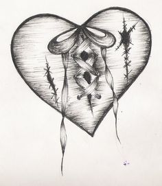 heartbreak tattoos | Cool Tattoo Zone: Heart Tattoo Designs Gallery