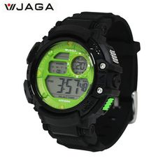 JAGA Men Sports Watches Multifunction Electronic Watches For Men Waterproof Watches Diving Watch M1086 #Affiliate