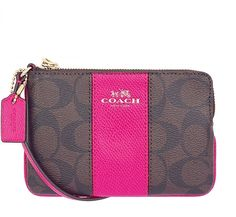Coach Auth Small Signature C/leather/pvc/patent F64233 Wristlet. Get the trendiest Clutch of the season! The Coach Auth Small Signature C/leather/pvc/patent F64233 Wristlet is a top 10 member favorite on Tradesy. Save on yours before they are sold out!