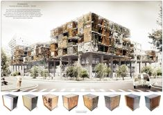 3 Winners of the 2016 Young Talent Architecture Award Announced,S'lowtecture. Housing structure in Wroclaw-Zerniki / Tomasz Broma, Faculty of Architecture, Wroclaw University of Technology. Image Courtesy of Fundació Mies van der Rohe