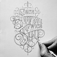 Drawing Tattoo Design Hand Lettering New Ideas Tattoo Lettering Styles, Chicano Lettering, Graffiti Lettering, Types Of Lettering, Tattoo Fonts, Hand Lettering, Calligraphy Letters, Typography Letters, Typography Design