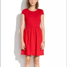 Madewell Ponte Screenplay Dress Originally $138. Brand new with tags. Sold out on Madewell website. Madewell Dresses