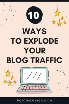 How To Increase Website Traffic( 10 New Strategies) - Hostingwhich Do you want to increase your blog traffic? Then click through and read my post where I share the top 10 best blogging tips and tricks.Learn how you can get website traffic to your new blog fast #blogtraffic #increasetraffic #pinteresttraffic Content Marketing Strategy, Media Marketing, Online Entrepreneur, Seo Tips, Blogging For Beginners, Make Money Blogging, Social Media Tips, Business Tips, The Help
