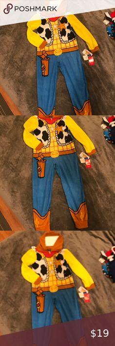 XXS Buzz Lightyear Woody Heroes in Training Orange Tee Shirt 2-3 years