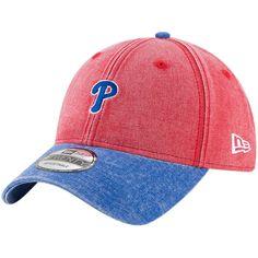 new concept 99685 bb9d0 Philadelphia Phillies New Era Rugged 9TWENTY Adjustable Hat - Red