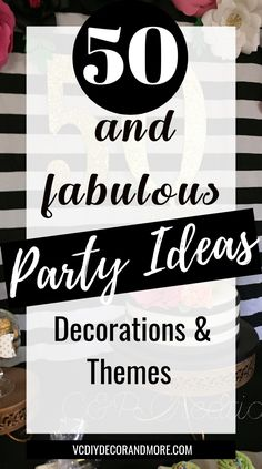 birthday ideas for women turning 50 and fabulous. Get theme ideas and decorations for a fifty and fabulous birthday party. birthday ideas for women turning 50 and fabulous. Get theme ideas and decorations for a fifty and fabulous birthday party. Moms 50th Birthday, 50th Birthday Quotes, Fifty Birthday, 50th Birthday Invitations, 50th Birthday Cards, Adult Birthday Party, Birthday Woman, Fiftieth Birthday, Birthday Gifts