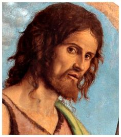 John the Baptist, detail John The Baptist, Saint John, 16th Century, Mona Lisa, Artwork, Painting, San Giovanni, Bellini, Detail