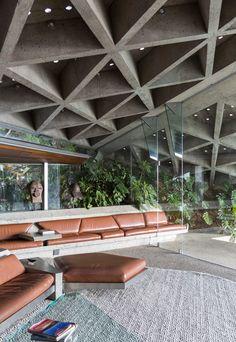 Galeria de Goldstein House de John Lautner é doada ao LACMA - 2