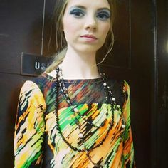 Pretty in Black and Pearls Jewelry #fashionweek#www.samanthacham.com