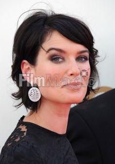 Actress Lena Headey arrives at...