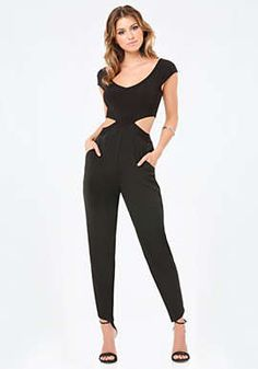 d23e1947c8a5 Neckband Jumpsuit. Off Shoulder ...