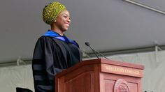 Award-winning author Chimamanda Ngozi Adichie gave the Commencement Address at Wellesley College's Commencement on Friday, May Text of this s. Chimamanda Ngozi Adichie, Bento, Global Thinking, Advice For The Graduate, Wellesley College, First University, Female Hero, Who Runs The World, Intersectional Feminism