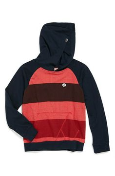 Volcom 'Rugger' Colorblocked Hoodie (Little Boys & Big Boys) available at #Nordstrom