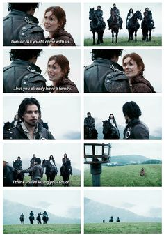 """""""You already have a family"""" - The Musketeers - 1x06 - The Exiles (Final scene)"""