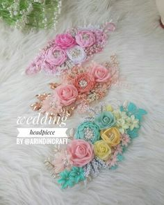Wedding headpiece by Maternity Belt, Baby Girl Headbands, Hare, Baby Showers, Headpiece, Belts, Flowers, Wedding, Head Bands