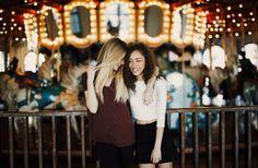 Inspiração fotos em parques de diversão