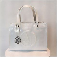 Bolso Armani Jeans charol blanco €139 Bolsos Armani Jeans 30f161fe3a0ef