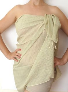 Ultrathin Turkish Towel Pareo Sarong on the boat by TheAnatolian, $28.00
