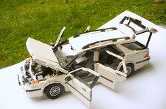 SAAB 9-5 Wagon all open
