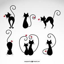 Resultado de imagen para dibujos de gatos