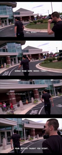 One of my favorite scenes from Ghost Adventures with Zak Bagans, Aaron Goodwin